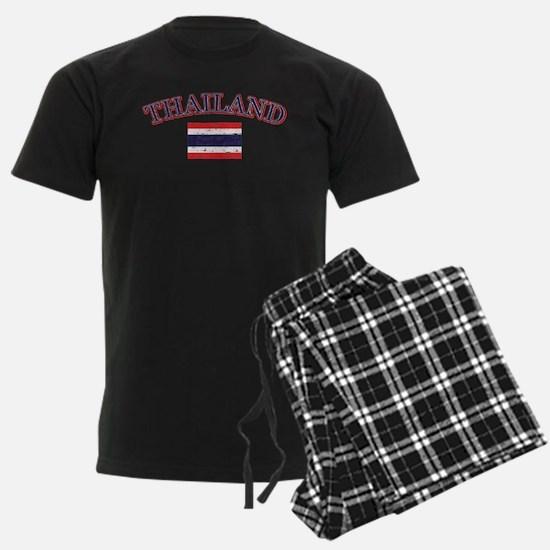 Thailand Flag Designs Pajamas