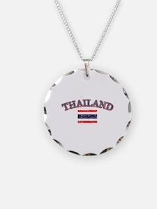 Thailand Flag Designs Necklace