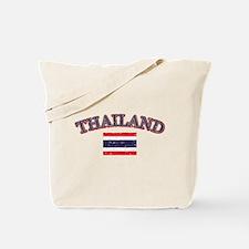 Thailand Flag Designs Tote Bag
