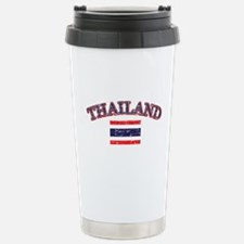 Thailand Flag Designs Stainless Steel Travel Mug