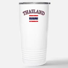 Thailand Flag Designs Travel Mug