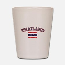 Thailand Flag Designs Shot Glass