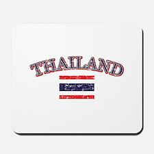 Thailand Flag Designs Mousepad