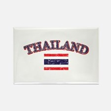 Thailand Flag Designs Rectangle Magnet