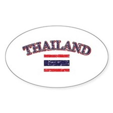 Thailand Flag Designs Decal