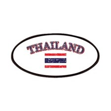 Thailand Flag Designs Patches