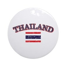 Thailand Flag Designs Ornament (Round)