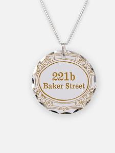 221b Baker Street Necklace