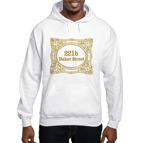 221b Baker Street Hooded Sweatshirt