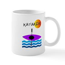 Kayaker 1 purple.PNG Mug