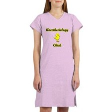 Anesthesiology Chick Women's Nightshirt