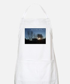 Behold, He Makes All Things New Apron