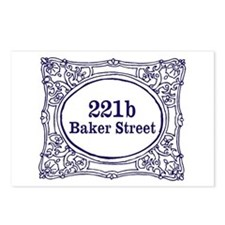 221b Baker Street Postcards (Package of 8)