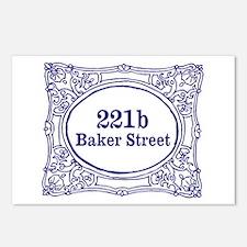 221b Baker Street Postcards (Package of 8)