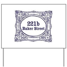 221b Baker Street Yard Sign