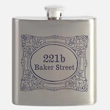 221b Baker Street Flask