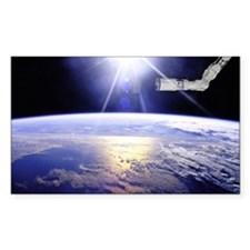 Earth from the Space Station Decal
