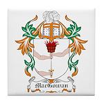 MacGowan Coat of Arms Tile Coaster