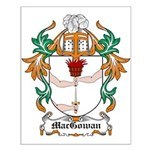 MacGowan Coat of Arms Small Poster
