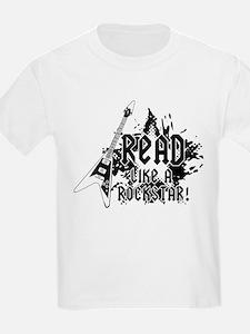 Read like a Rockstar T-Shirt