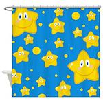 Cute Kids Shower Curtains