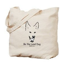 Be the Lead Dog Paws4Critters Dog Tote Bag