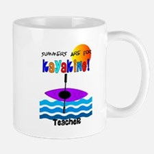 Teacher kayaking.PNG Mug