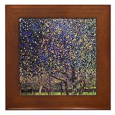 Gustav Klimt Pear Tree Framed Tile