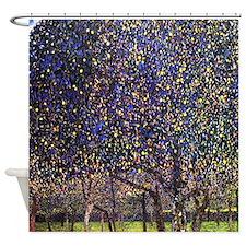 Gustav Klimt Pear Tree Shower Curtain