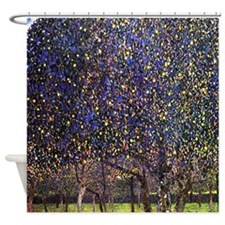 Gustav Klimt Pear Tree Shower Curtain