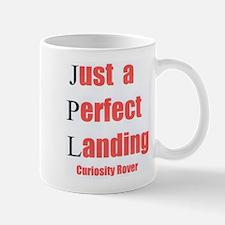 Mars Curiosity Rover Landing Mug