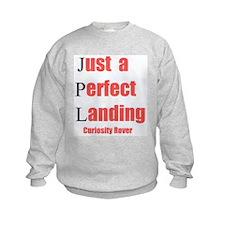 Mars Curiosity Rover Landing Sweatshirt