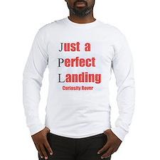 Mars Curiosity Rover Landing Long Sleeve T-Shirt
