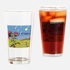 Rain Drinking Glass