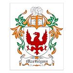 MacGlynn Coat of Arms Small Poster