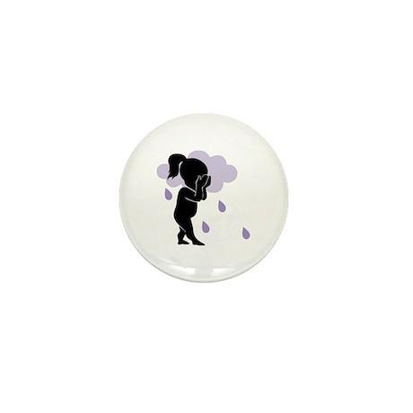 Rain Mini Button