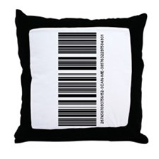 Scan Me Throw Pillow