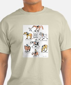 School Horse Species T-Shirt