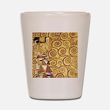 Gustav Klimt the Expectance Shot Glass