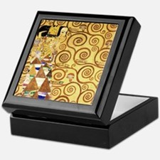 Gustav Klimt the Expectance Keepsake Box