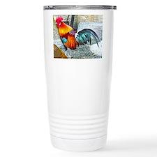 Wake Up Rooster Travel Mug