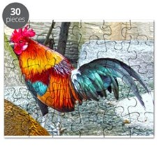 Wake Up Rooster Puzzle