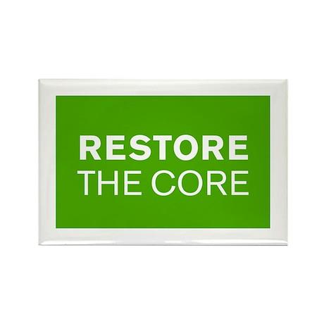 Restore the Core Rectangle Magnet