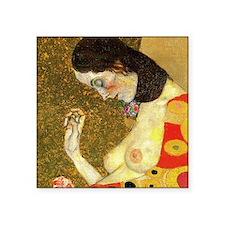 "Gustav Klimt Hope Square Sticker 3"" x 3"""