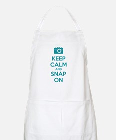 Keep calm and snap on Apron