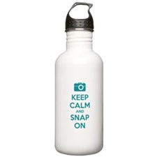 Keep calm and snap on Water Bottle