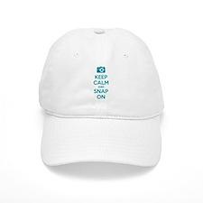 Keep calm and snap on Baseball Baseball Cap