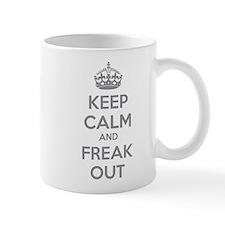 Keep calm and freak out Small Mug
