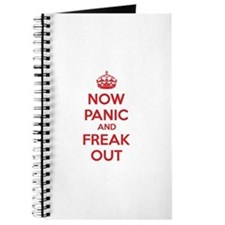 Now paninc and freak out Journal