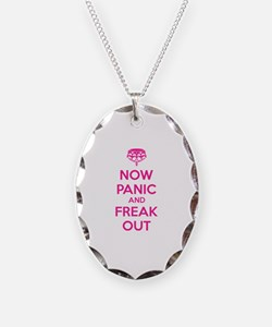 Now paninc and freak out Necklace
